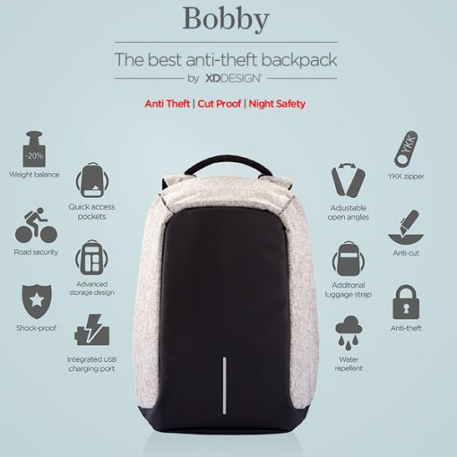 BOBBY BACKPACK FEATURES