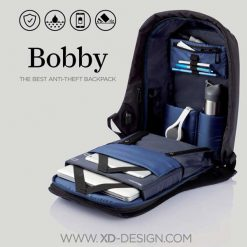 DarkBlue Bobby BackPack