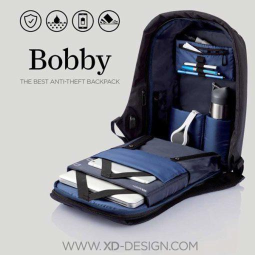 DarkBlue Bobby BackPack